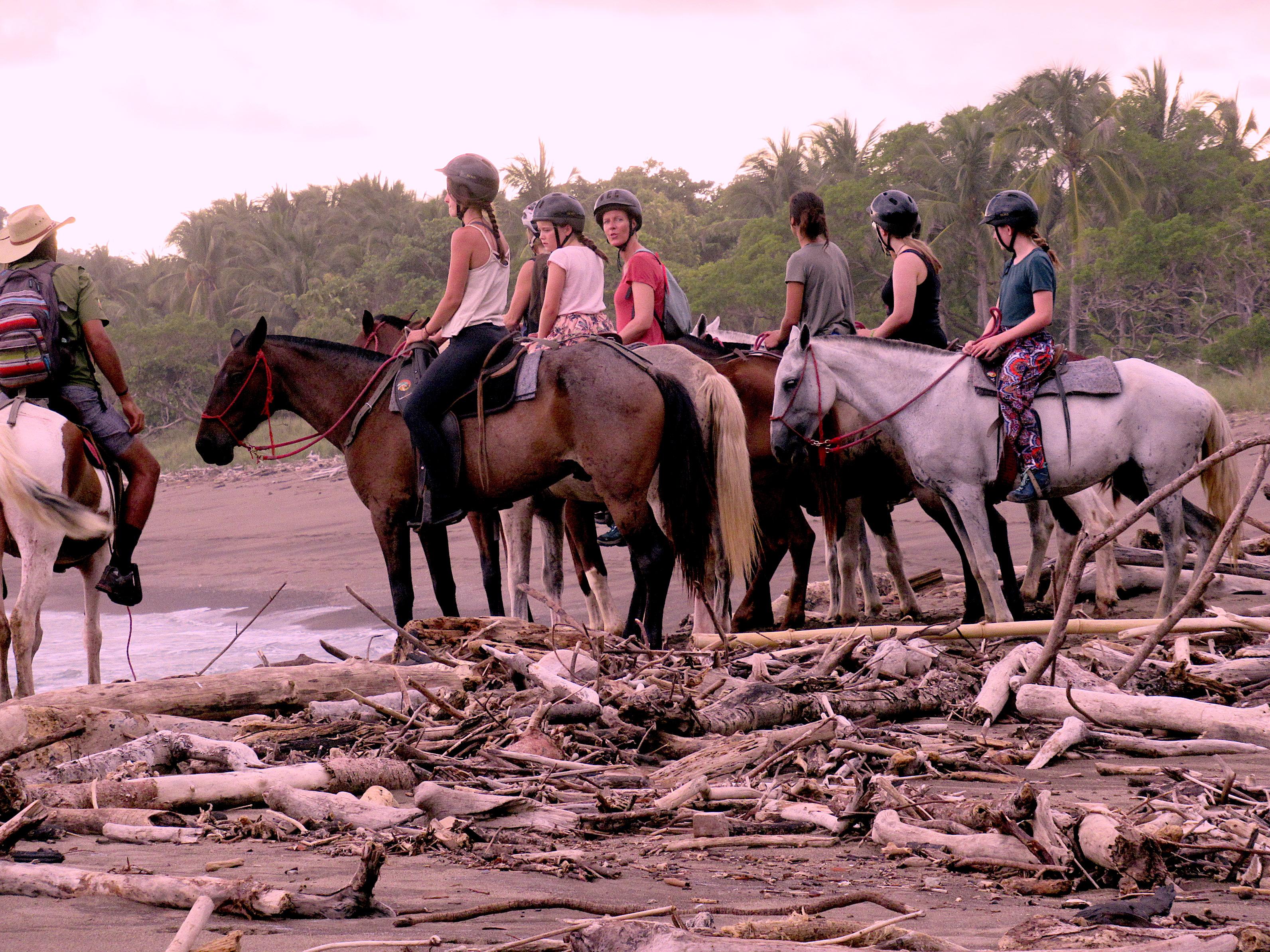 Ausflug auf Pferd Costa Rica