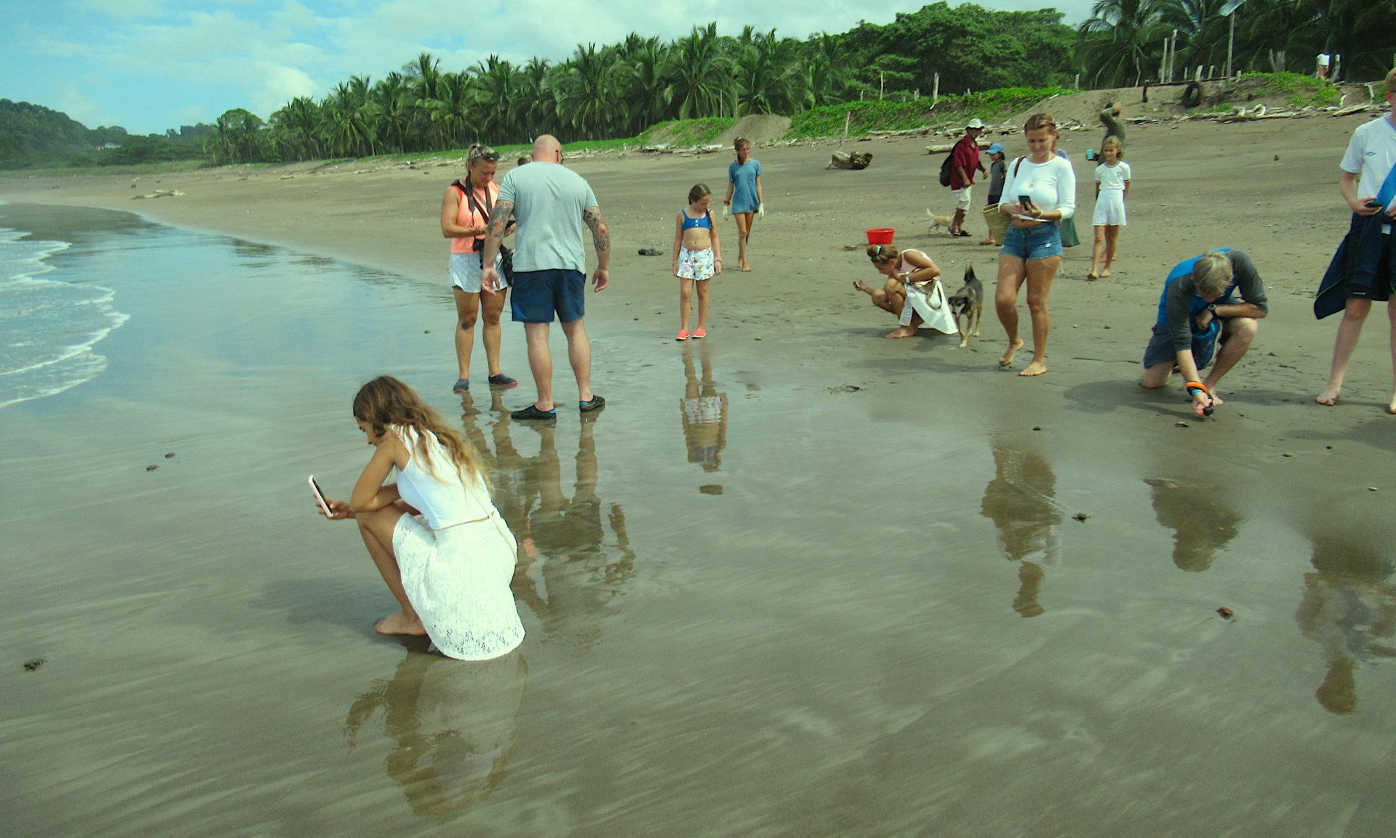 Costa Rica Praktikum Strand