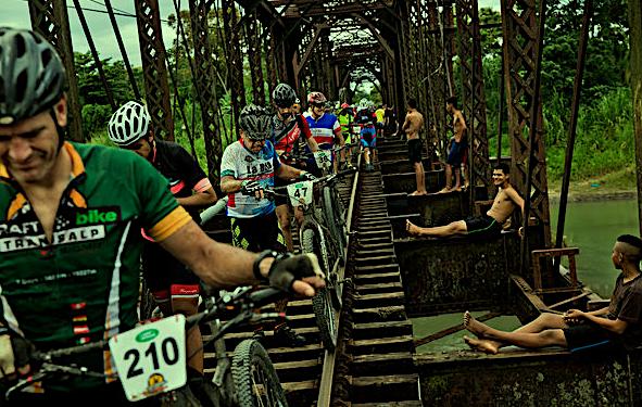 la ruta de los conquistadores 2019, mit Fahrrad durch Costa Rica